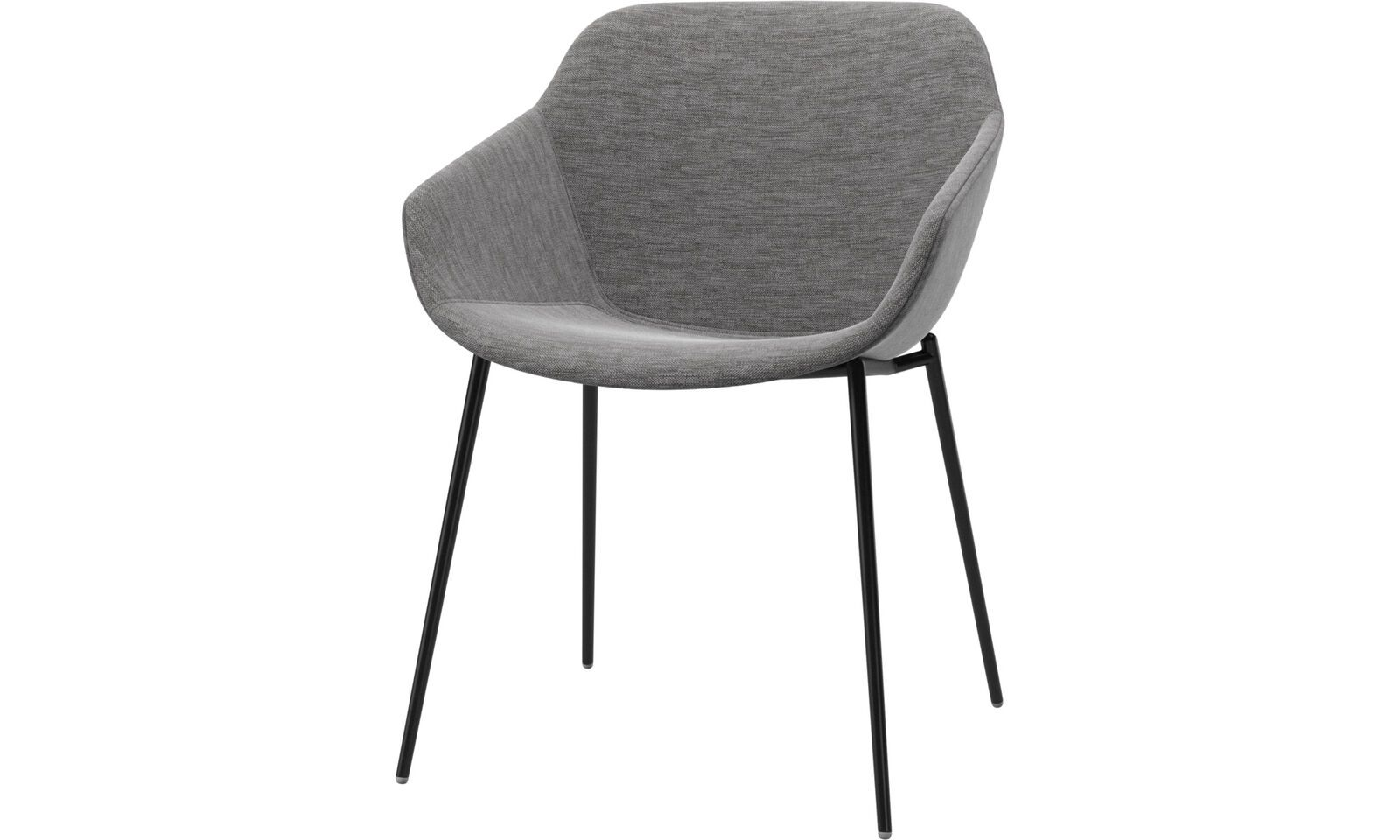 Dining chairs   Vienna chair   Grey   Fabric   Boconcept ...