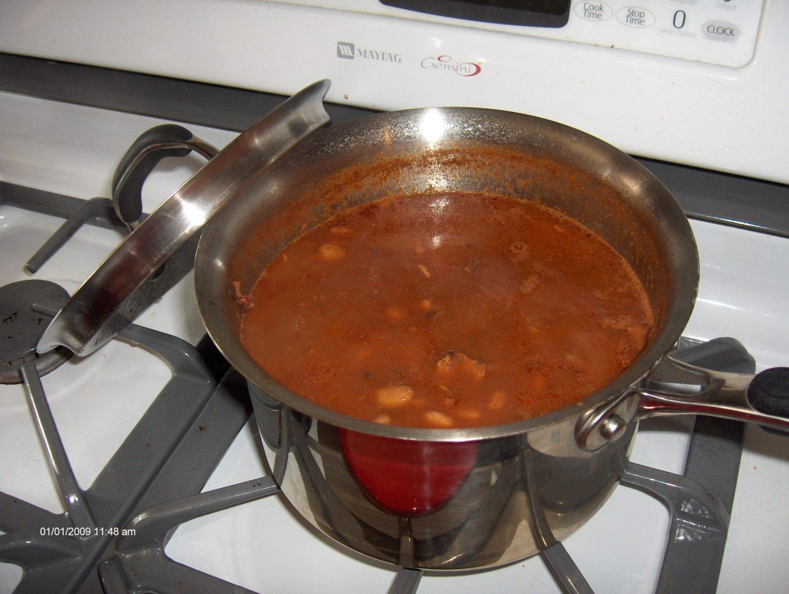 My mother in law made Portuguese Beans every week....so good!  She always made them with lingucia--more flavorful!