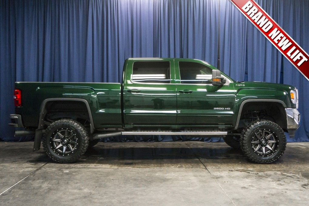 Cheap Used Lifted Trucks For Sale >> Lifted 2015 Gmc Sierra 3500 Hd Sle 4x4 Lifted Trucks At