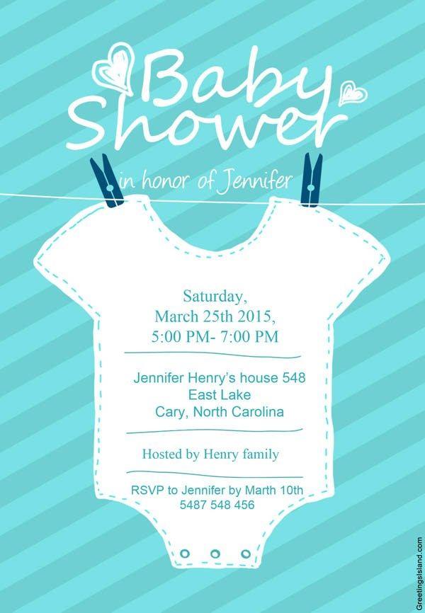 7 invitaciones de baby shower para imprimir (¡¡gratis!!) - Baby Shower  Perfecto e2a67a7bdf145