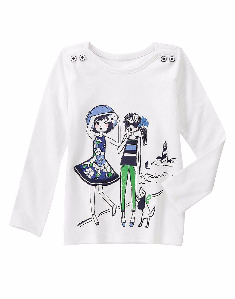 NWT Gymboree Tropical breeze Girls Blue whale Tee shirt Top 5,6