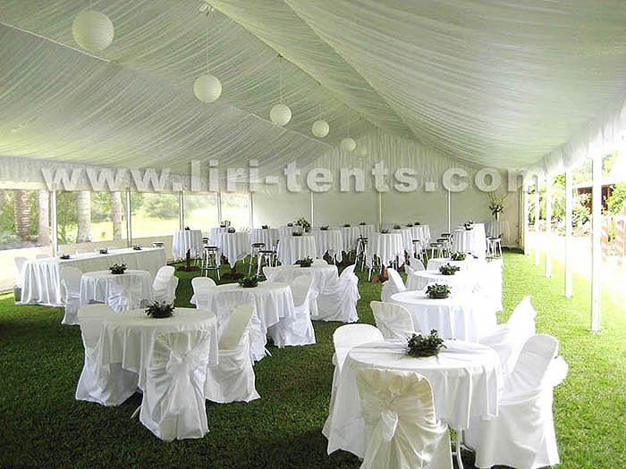 Backyard Tent Weddings