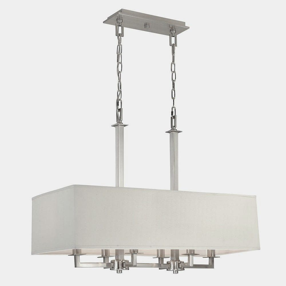 Hampton Bay 227730 Menlo Park 4 Light Pendant Fixture