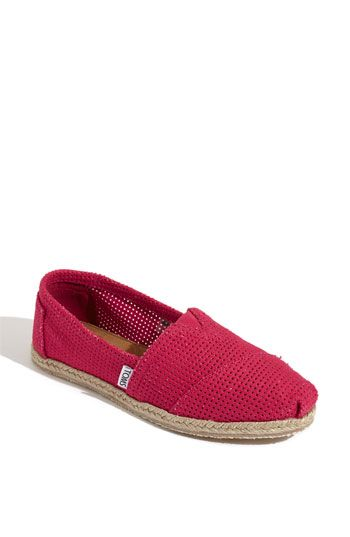 1de3c54220d TOMS 'Freetown - Classic' Espadrille Slip-On (Women) available at #Nordstrom