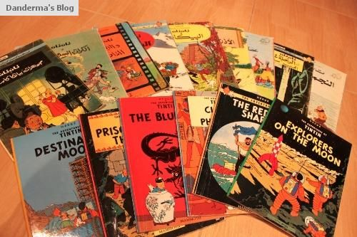 The Adventures of Tintin! We have the whole set :)