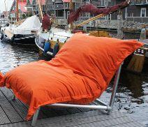 Xl Zitzak Van Sit Joy.Zitzak Fatboy Of Ikea Sit Joy Terapy Maak Er Een Lounge Stoel
