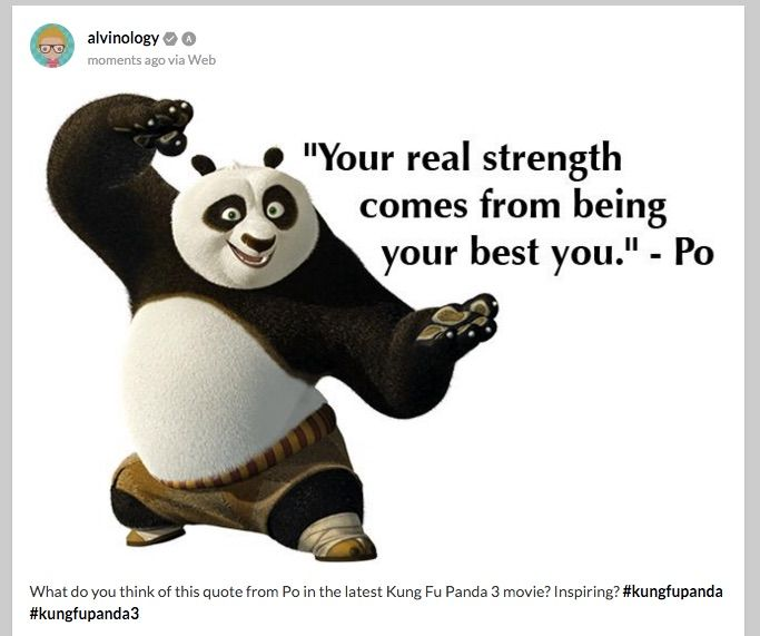 Panda Quotes Mesmerizing Poquote 683×571  Movie Quotes  Pinterest  Kung Fu Panda