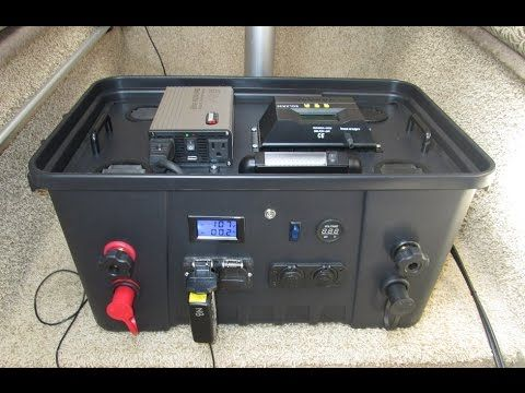 This Diy 110 Amp Hour Portable Generator Is Designed To Be