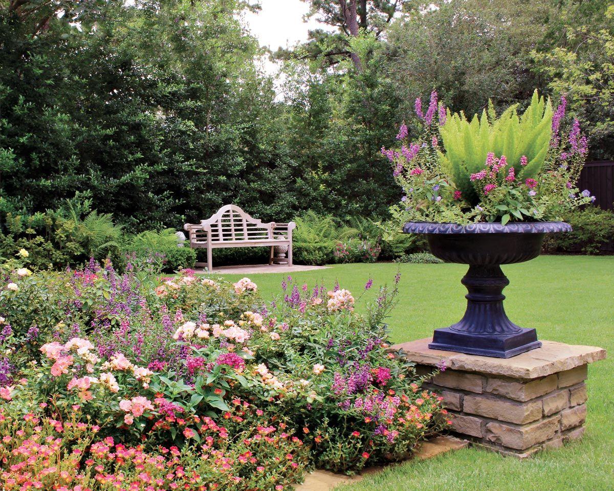 Moss Landscaping Memorial Garden Summer Garden Garden