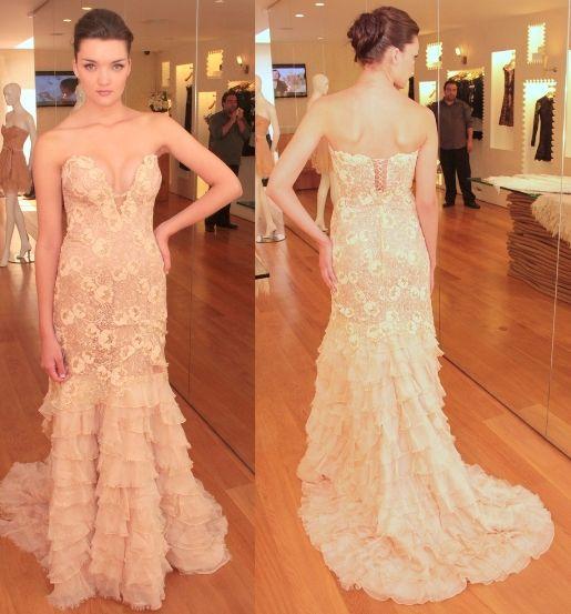 74e619264860 Vestidos de festa com babados | dresses | Vestido de festa, Vestidos ...