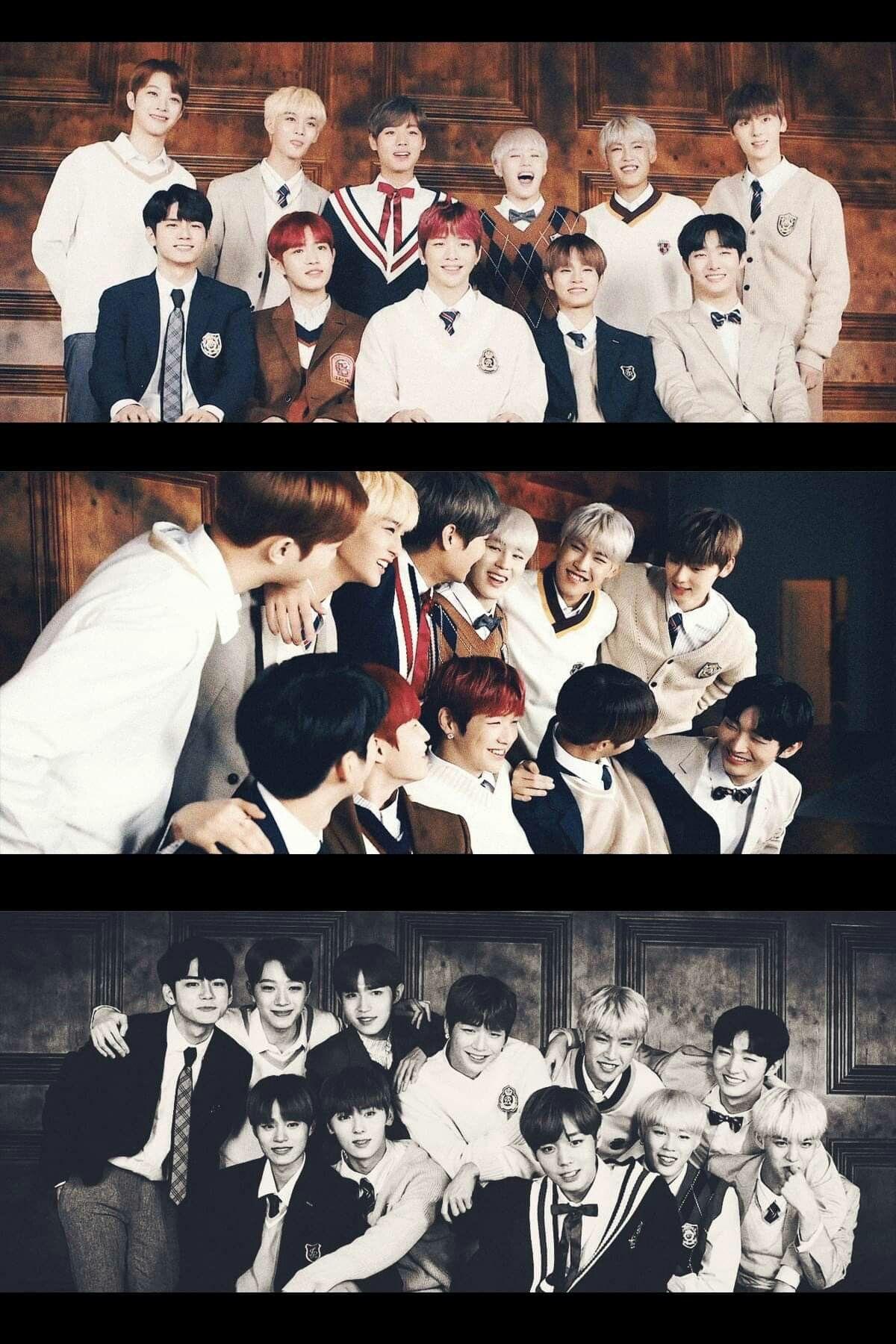 I Didnt Prepare Myself For Wanna One S Disbandment Its So Painfulll I Dont Want The Year 2018 To End T 0t Kenangan Gambar Dan Selebritas