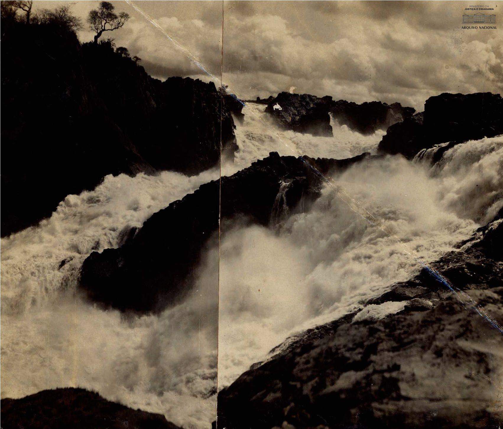 Cachoeira de Paulo Afonso, s d  Arquivo Nacional  Fundo