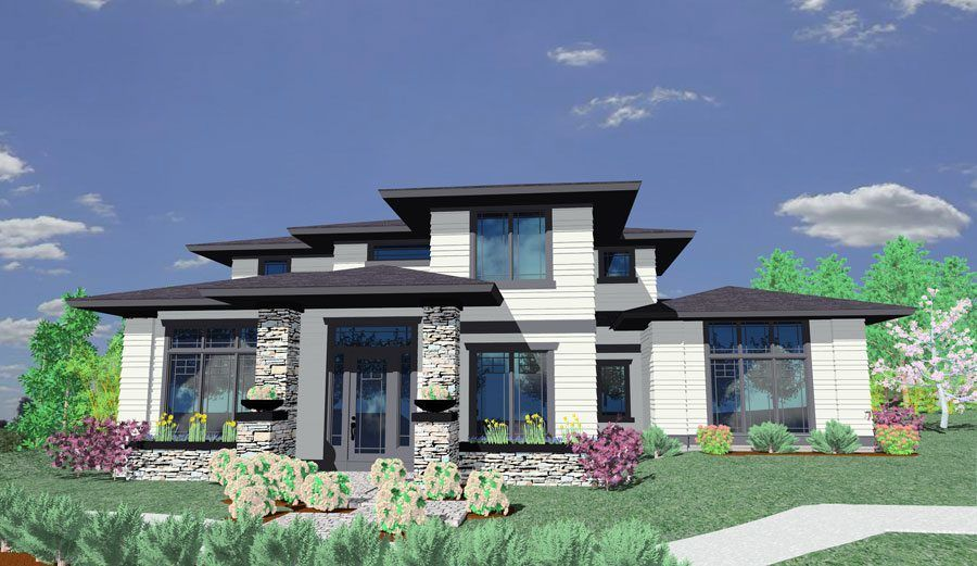 Delightful Plan 85014MS: Prairie Style House Plan