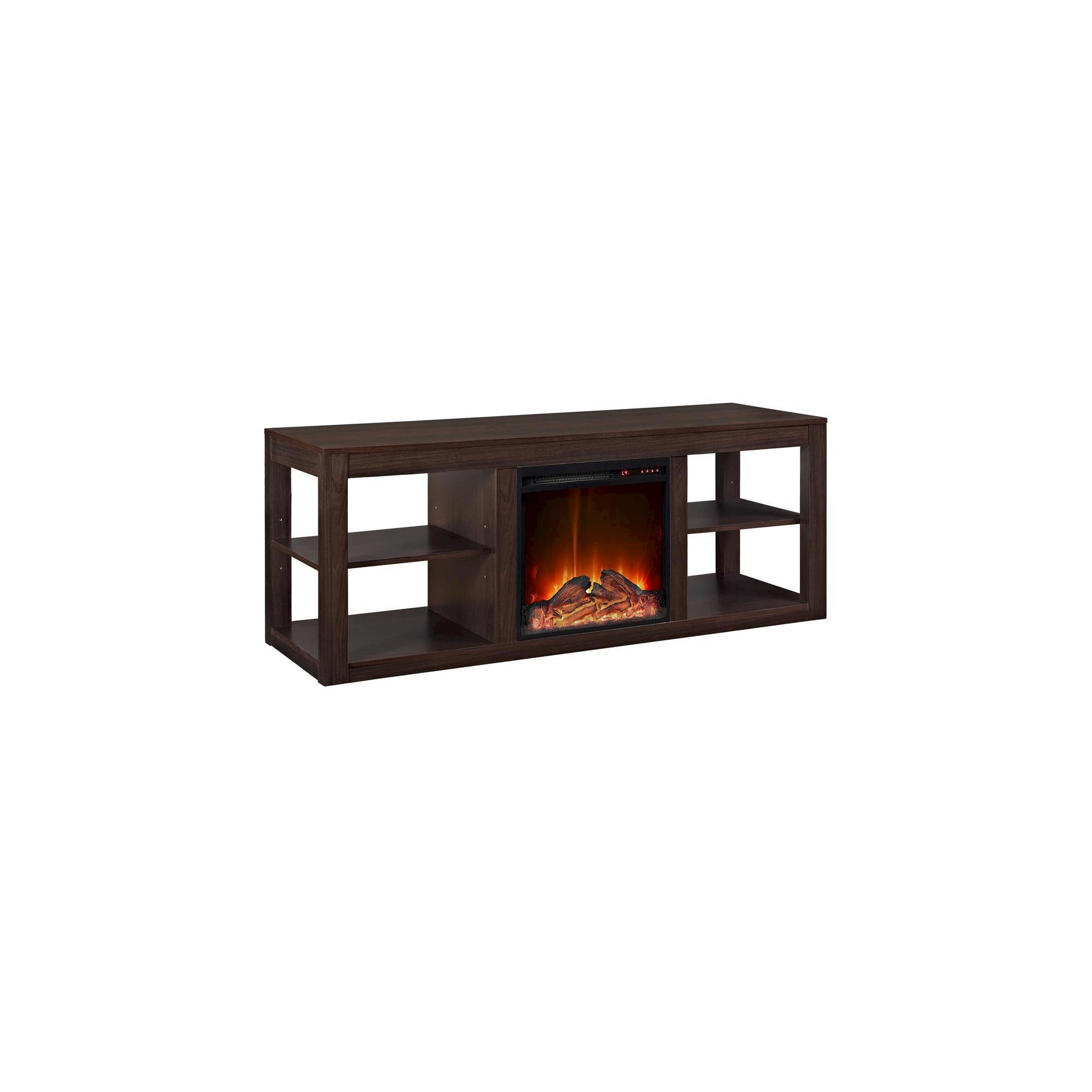 Good Free of Charge Electric Fireplace console Concepts George Fireplace TV Console  Espresso  Room  Joy Brown