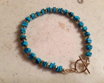 Orange Bracelet  Sterling Silver Jewelry  Beaded Jewellery