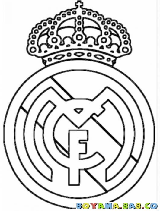 Real Madrid Colouring Pages חיפוש ב Google Coloring Pages