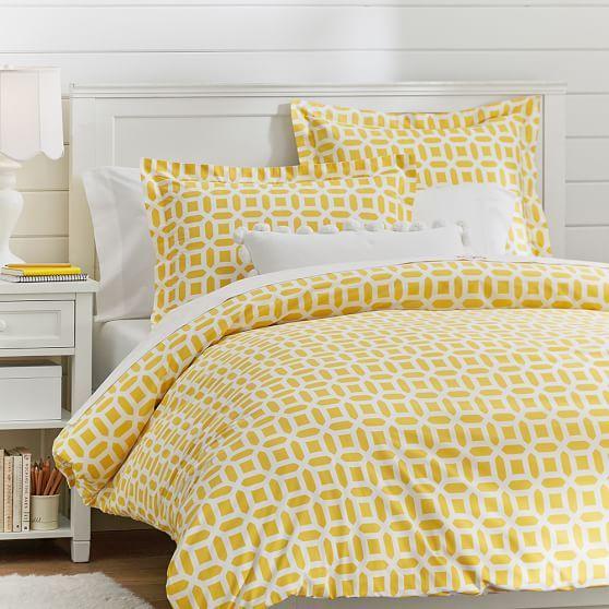 Peyton Duvet Cover Sham Duvet Covers Yellow Yellow Bedding Yellow Bedding Sets