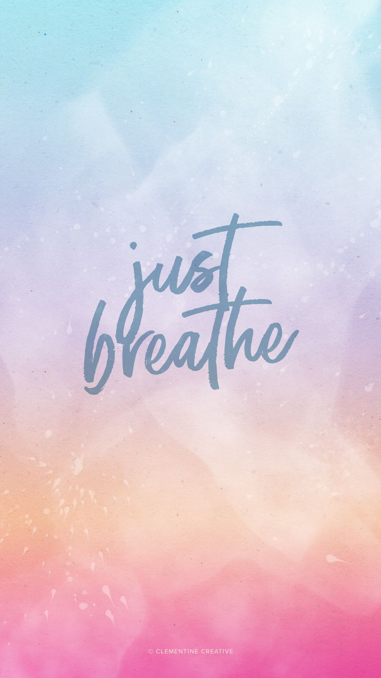 Just Breathe - Free Desktop, Tablet and Mobile Wallpapers  Phone
