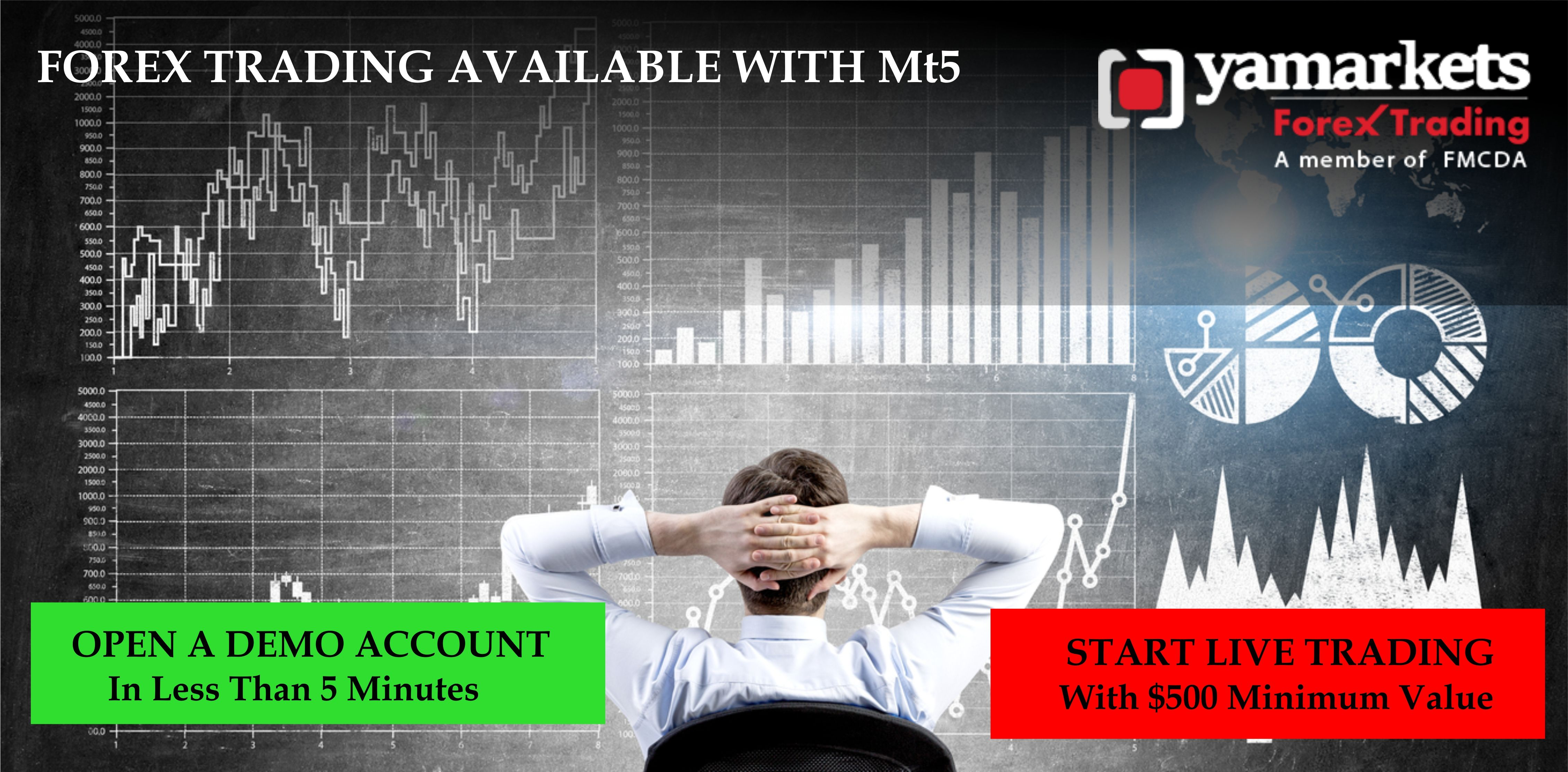 Forex Trading Available With Mt5 At Yamarkets Visit Www Yamarkets