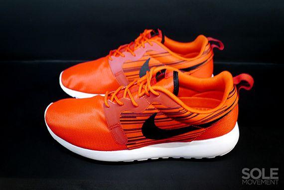 ce6d97530f8f Nike Roshe Run Hyperfuse - Atomic Red - Black - SneakerNews.com