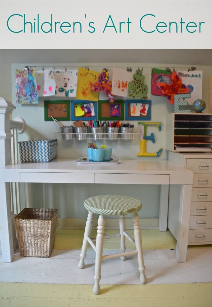 eleanor s art space reveal a place for all my crafty bits rh pinterest com Art Supplies kids art room flooring