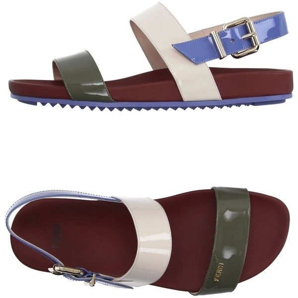 Sandals455❤ Shoes Featuring Polyvore Liked Fendi On pqSzMVUG