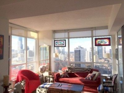 2 Bedroom Condo For Rent In Toronto Near Sherbourne Station Luxury Condo Condo Property For Rent