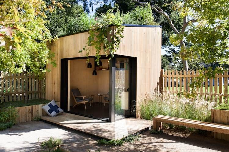Chalet De Jardin Habitable Alternatives Pour Gagner Surface Chalet De Jardin Habitable Chalet De Jardin Jardin Contemporain