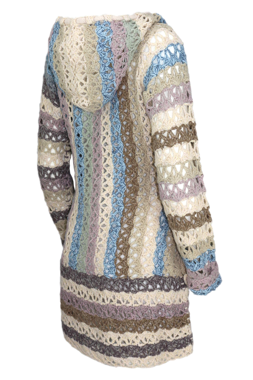huge discount 4e299 a4fc6 Stilvoll anziehen: Häkeljacke | Mode | Jacken, Khujo damen ...