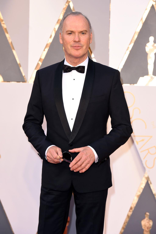 Michael Keaton on the Oscars 2016 Red Carpet