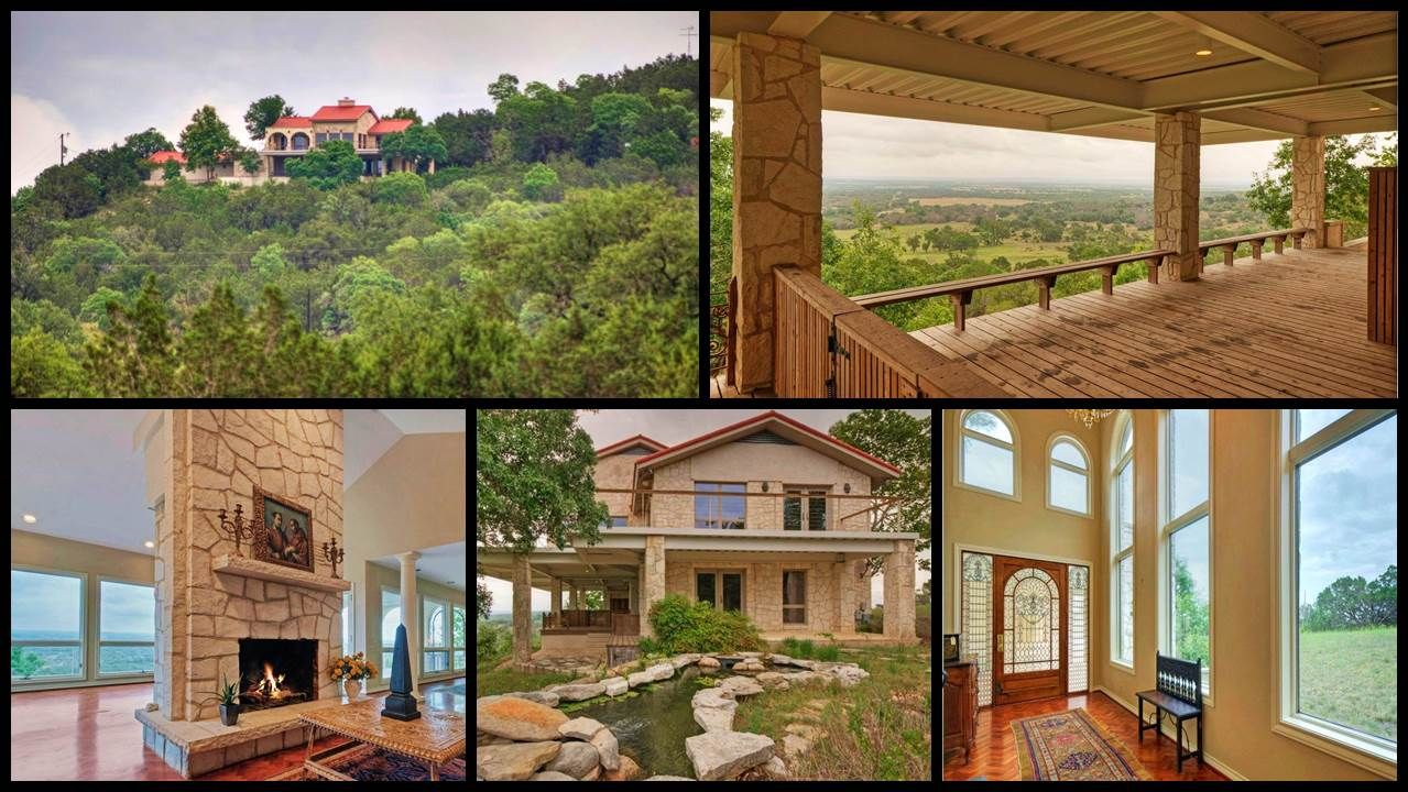 Listing Website Youtube Facebook Abor Fredericksburg Reduced 350k New Kitchen Master Soaring Ceilings W Estate Homes Hill Country Homes Austin Homes