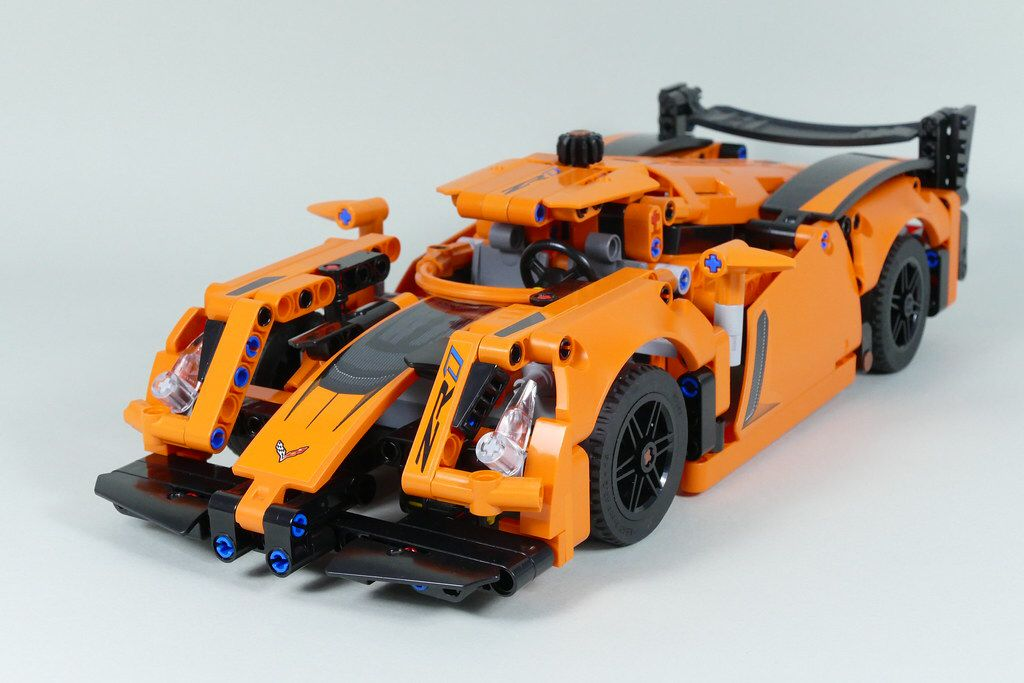 Le Mans Racer Lego Technic 42093 E Model In 2020 Lego Technic