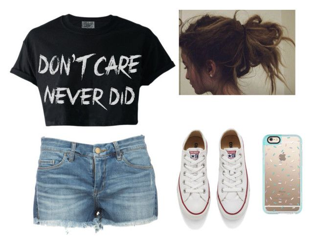 """""""Going to the pool with the squad!"""" by xxjerriexx ❤ liked on Polyvore featuring Converse, Casetify, PoolSquad and goals"""