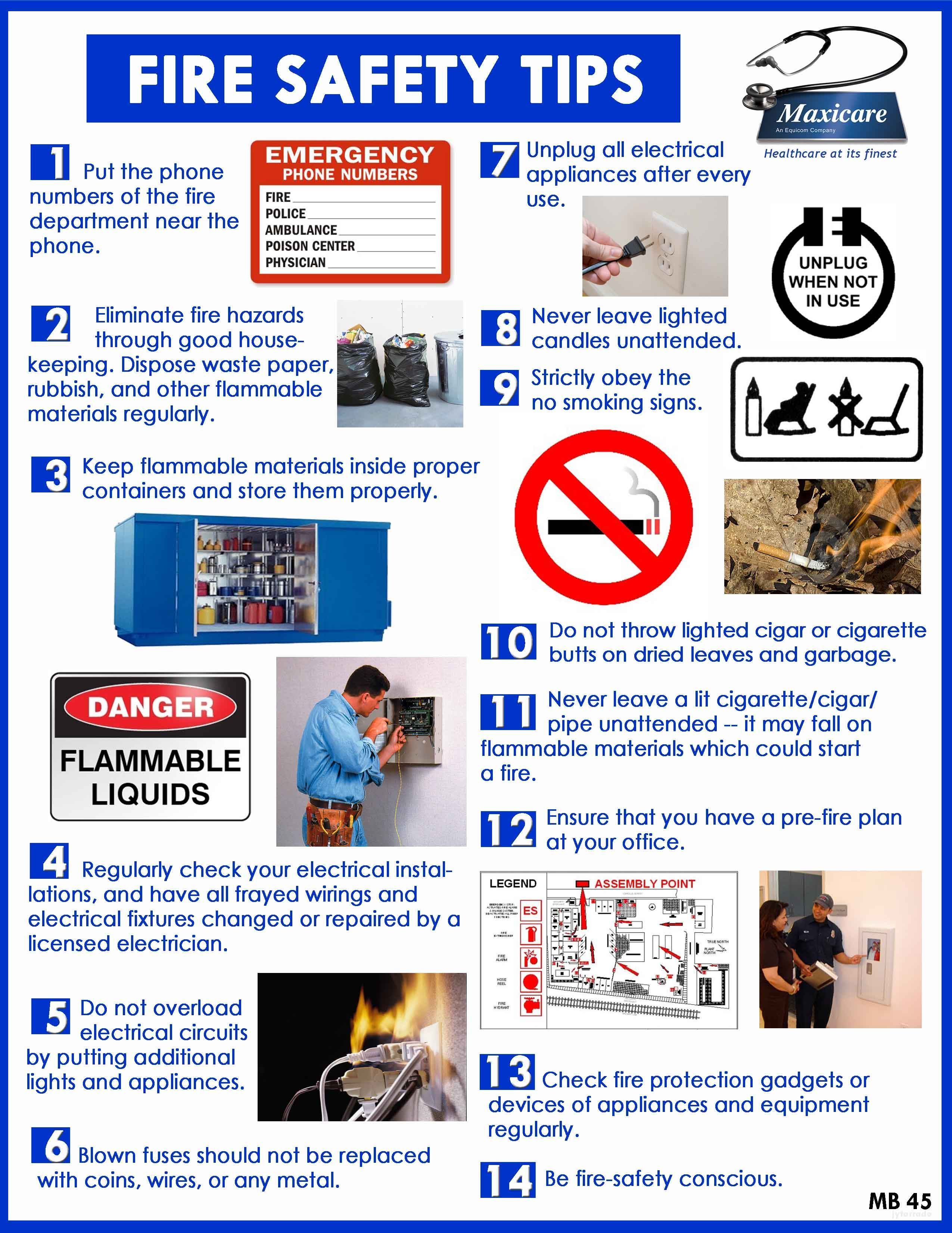 Fire Safety For Kids [Infographic] Tips, Prevention