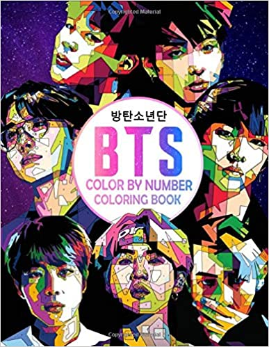 Bts Color By Number Clark Alan 9798650469933 Amazon Com Books In 2021 Bts Coloring Books Boy Coloring