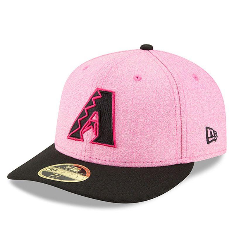 Arizona Diamondbacks New Era 2018 Mother s Day On-Field Low Profile 59FIFTY Fitted  Hat – 4d77f6b2058