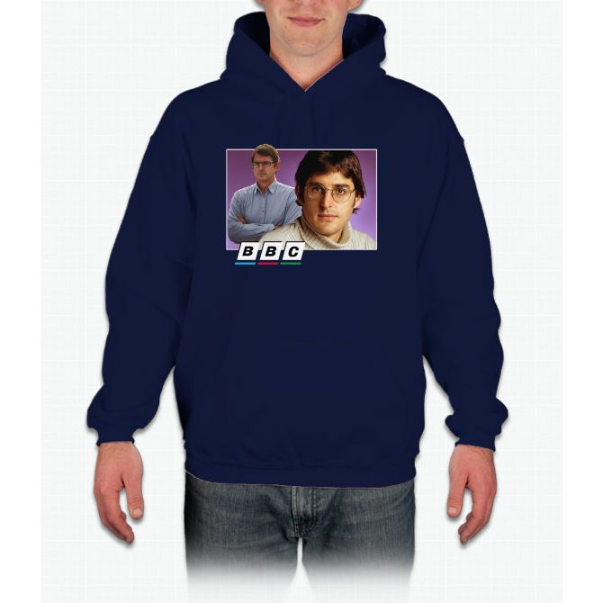 Louis Theroux 90s no text Hoodie