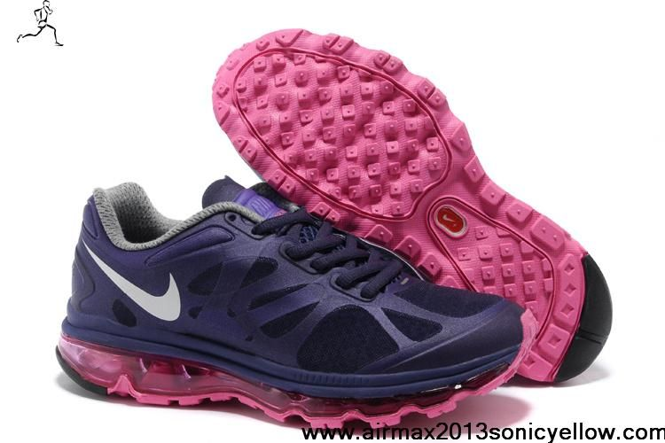 Nike Women's Shoes- Nike Air Max 2012 Purple White