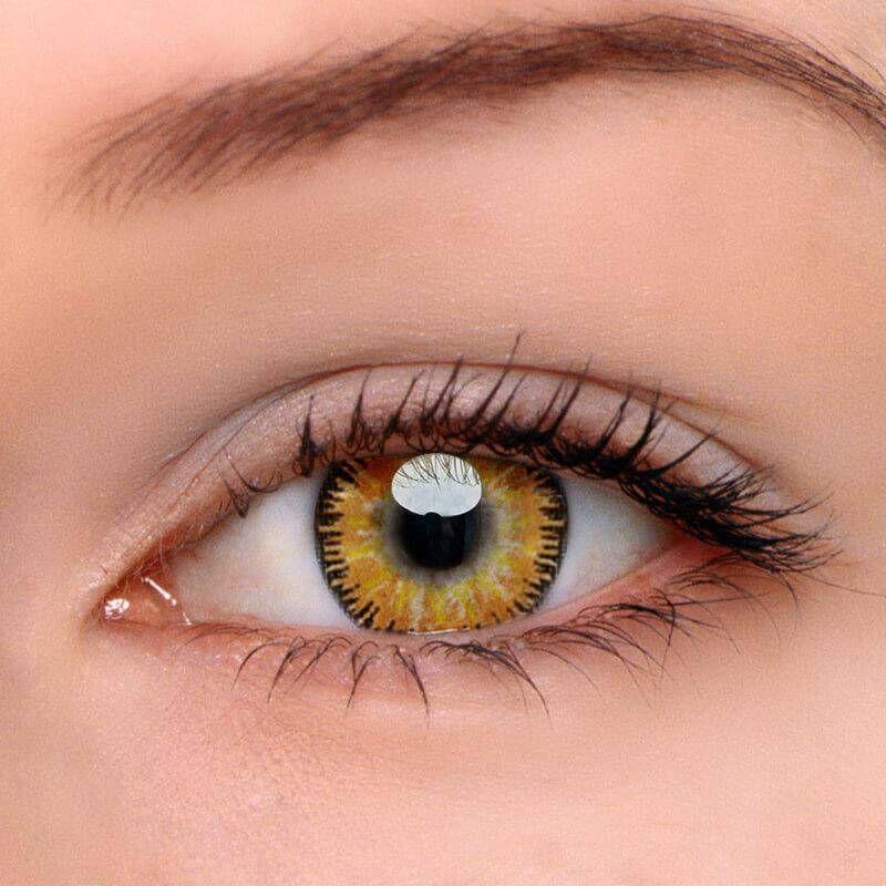 Mystery Yellow Prescription Contact Lenses Colored Eye Contacts Contact Lenses Colored Colored Contacts
