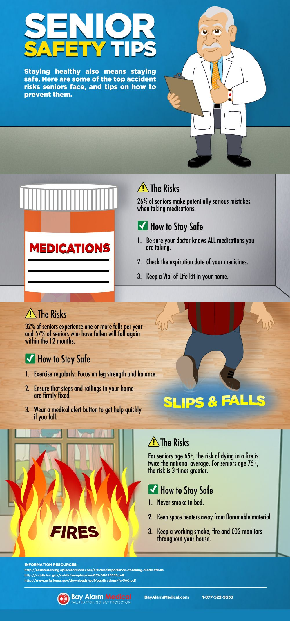 Senior Safety Tips Infographic Top Pins From Top