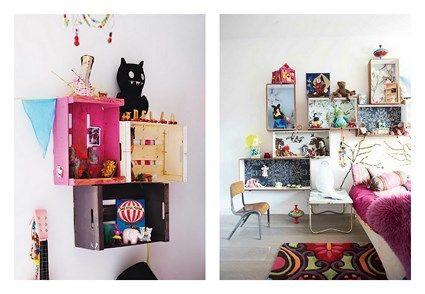 cajones fruta1 Reciclar Pinterest Cajones de fruta Reutilizar
