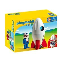 Playmobil - 1.2.3 Moon Rocket (6776)