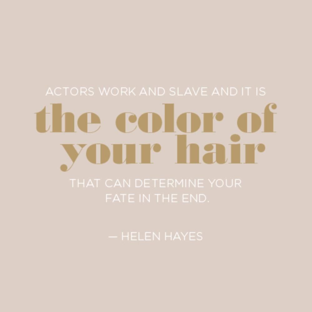 hair quotes: motivation for a good hair day every day | sayings
