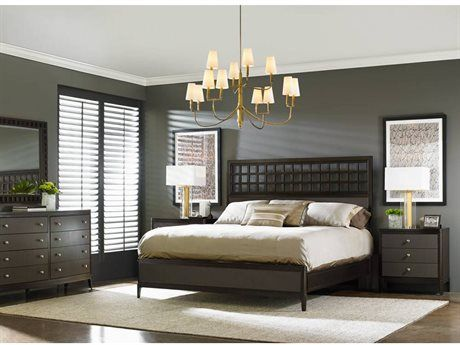 Stanley Furniture Wicker Park Platform Bed Bedroom Set Bedroom