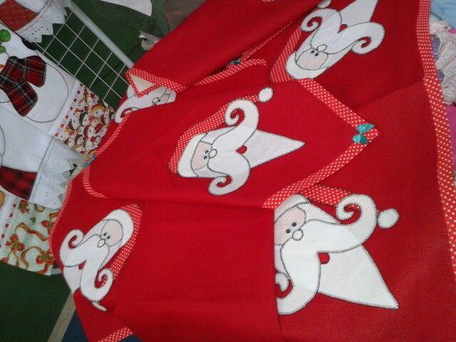 Kit de Natal, contendo cinco peças