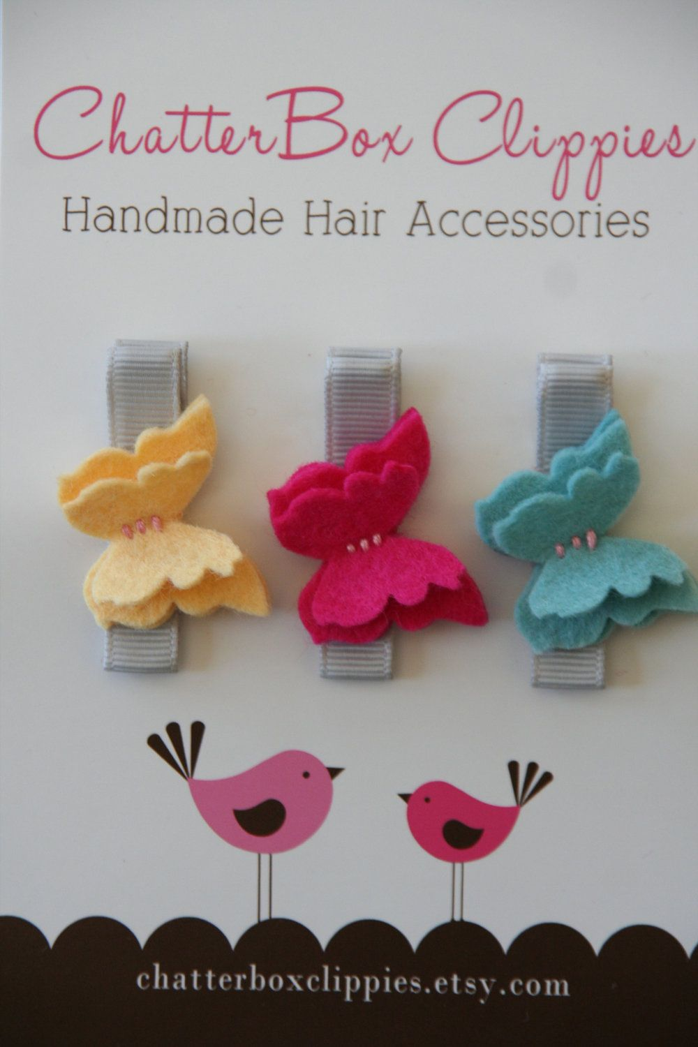 Simple Clippies Easter Toddlers Hair Clips Clippies Spring Clippies Simple Hair Clips Hair Bows Girls Hair Clips Easter Hair Clips