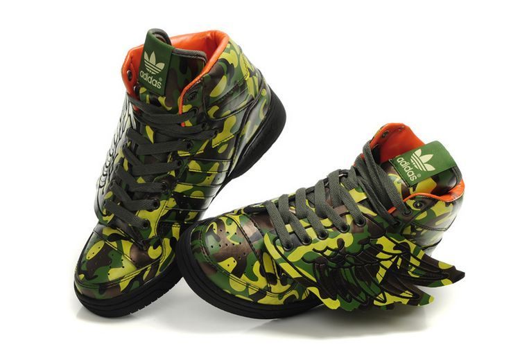 Marca: adidas Originals By Jeremy Scott JS Wings Camo shiit real