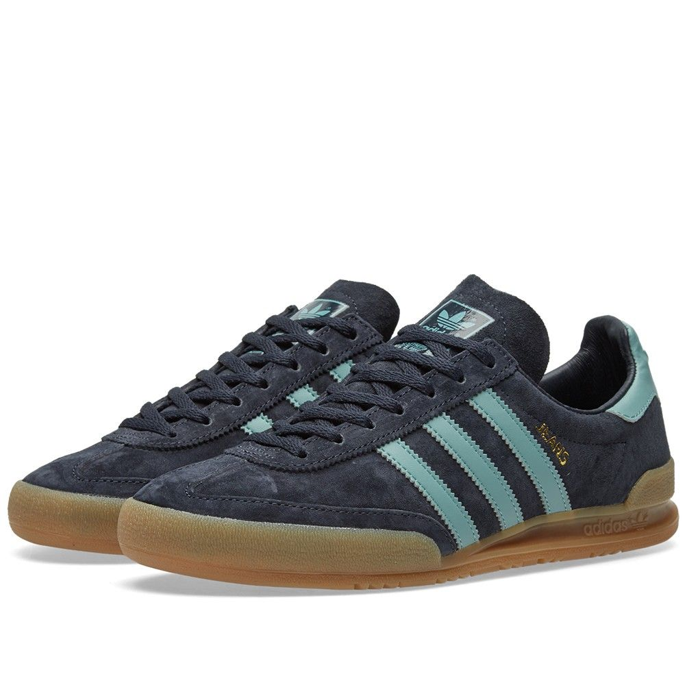 pretty nice 00a26 2ad0b Based on an archival design from 1980, adidas reissue the Jeans sneaker  with pigskin suede