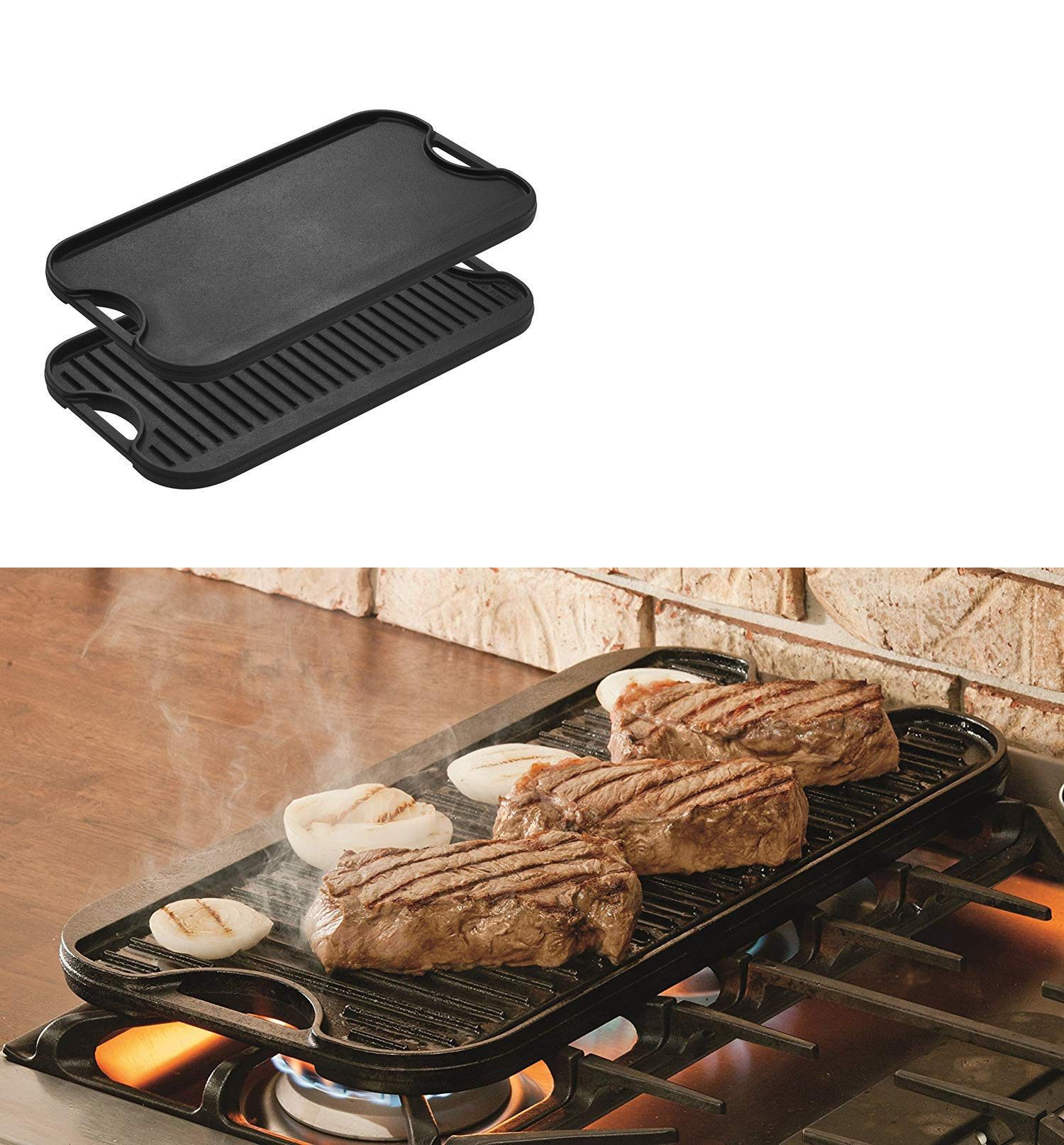 Grills And Griddles 20675 Pro Grid Cast Iron Grill Griddle Combo Reversible 20 X 10 44 Grill Gridd Griddle Grill Seasoning Cast Iron Cast Iron Grill