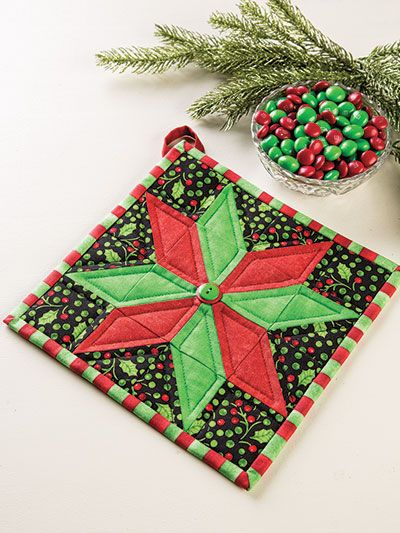 Pot Holders For All Seasons Christmas Pots Holiday Quilts